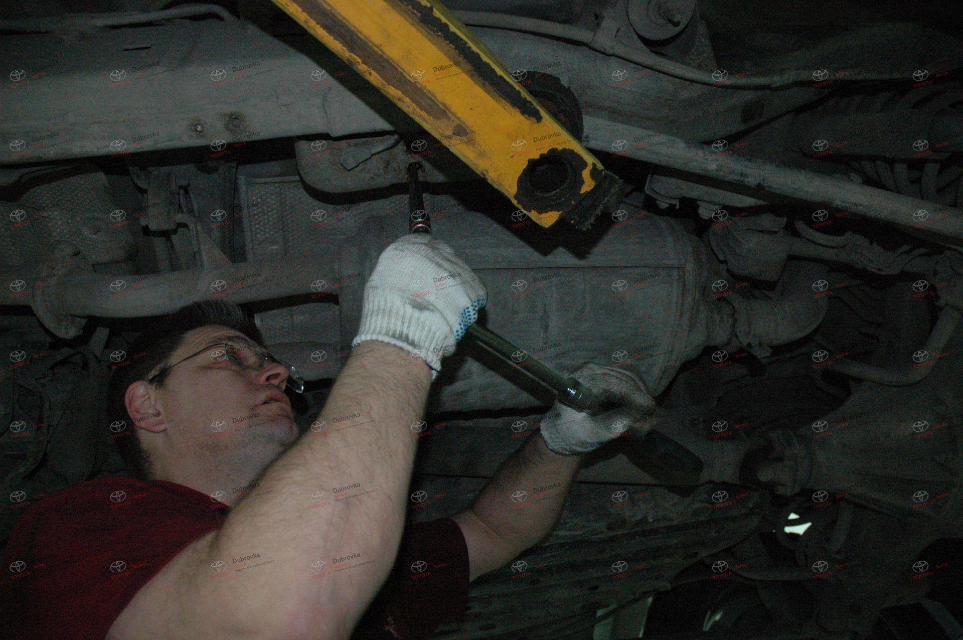 KDSS на внедорожниках Toyota